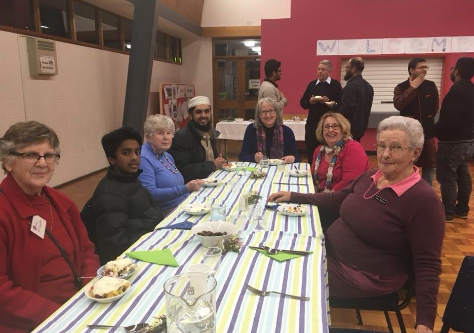 Uniting Church and Muslims break Ramadan Fast in Friendship