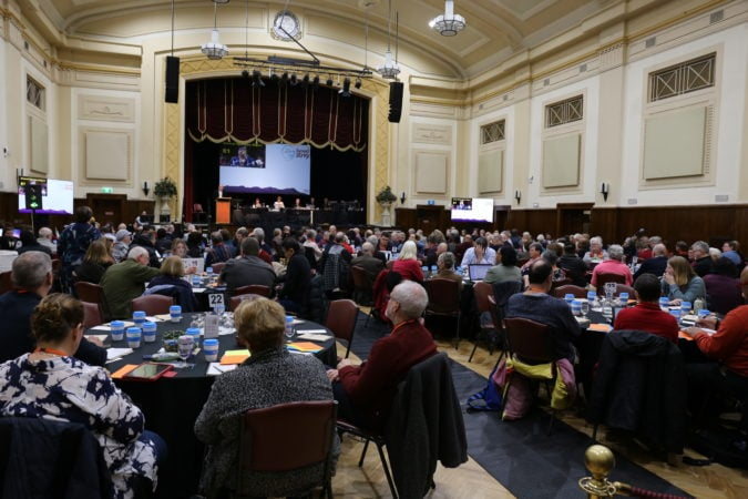 Synod Meeting group