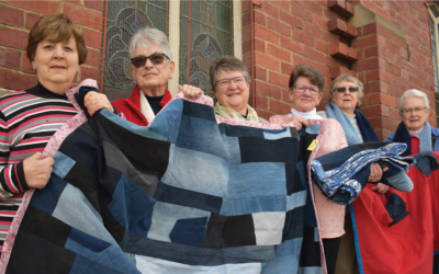 Stitching Some Warmth Back Into The Community