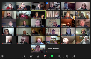 Weekly 'open meeting' Zoom for local leaders