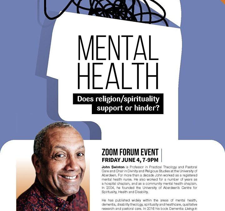 Mental Health Forum – online