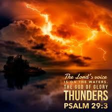 May 30th  2021    Psalm 29   Trinity Sunday