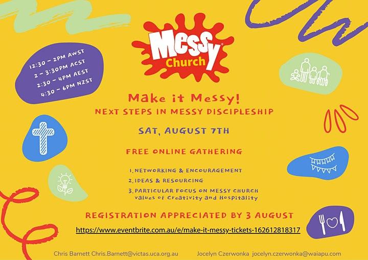 Make it Messy – FREE online gathering 7 Aug 2021